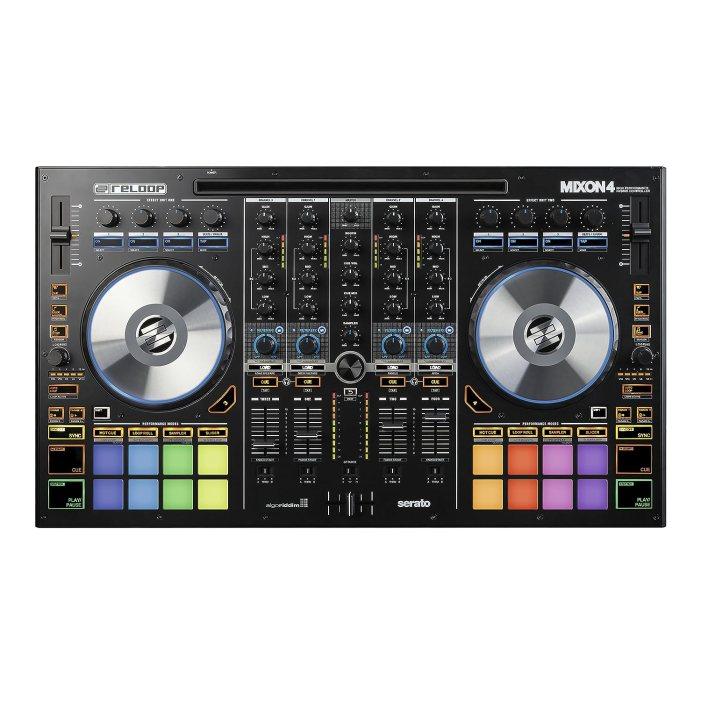 Reloop Mixon 4 High Performance 4-Channel Hybrid DJ ControllerBlack Friday Deals 2019