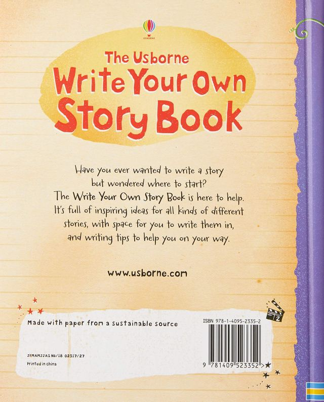 Write Your Own Storybook : Stowell, Louie, Chisholm, Jane, Lovell