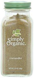 Simply Organic - Coriander - 2.29 oz.