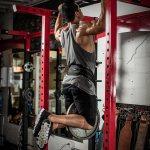 Harbinger Polypropylene Weight Dip Belt with 34-Inch Steel Chain