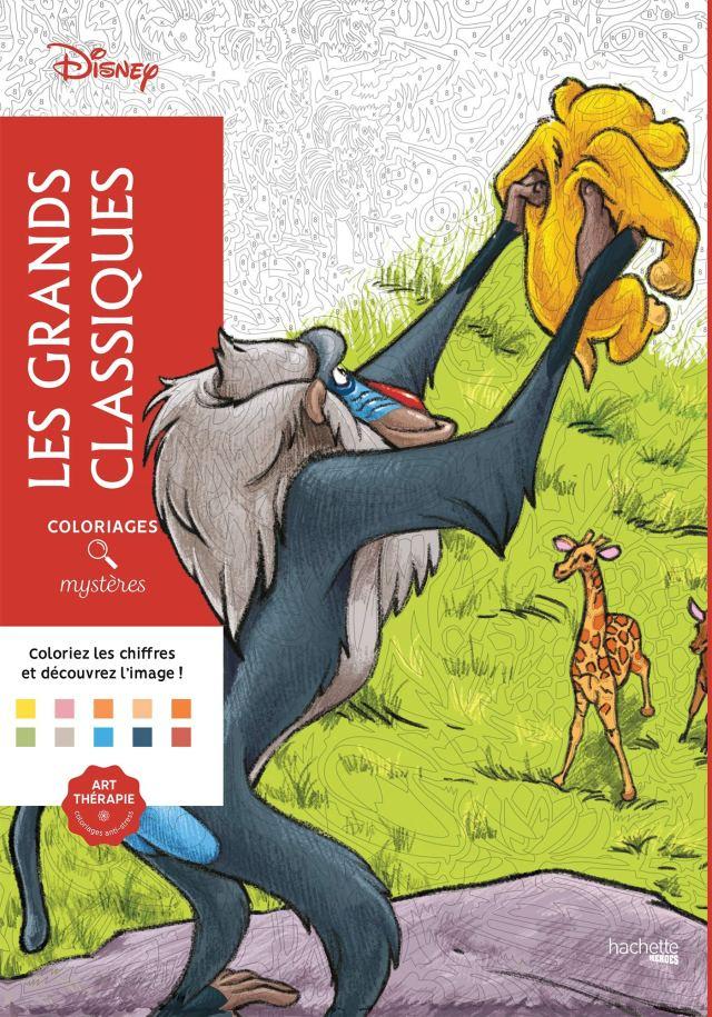 Coloriages mystères Les grands classiques Disney : Disney: Amazon