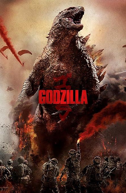 Amazon.com: 11x17 Godzilla (2014) B Movie Poster Starring ...