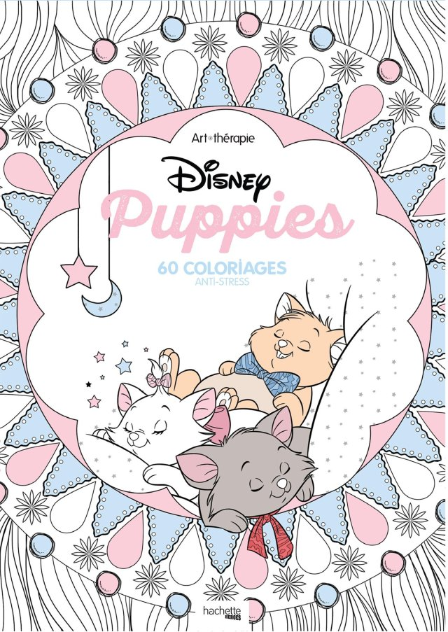 Disney « Puppies »: 30 coloriages anti-stress : Mademoiselle Eve