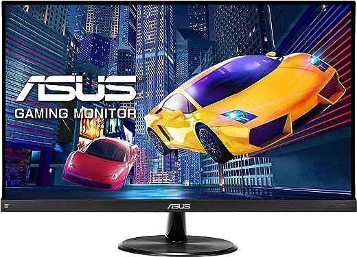 "ASUS VP249QGR - Ecran PC Gamer 23,8"" FHD - Dalle IPS - 144Hz - 1ms - 16:9 - 1920x1080 - 250cd/m² - Display Port, HDMI & VGA - Haut-parleurs - AMD FreeSync - Shadow Boost"