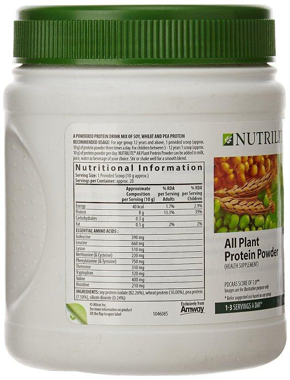 Nutrilite Protein Powder Benefits