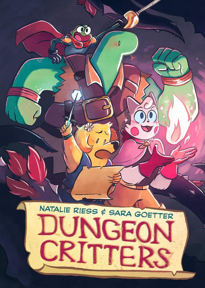 Dungeon Critters: Riess, Natalie, Goetter, Sara: 9781250195470: Amazon.com:  Books