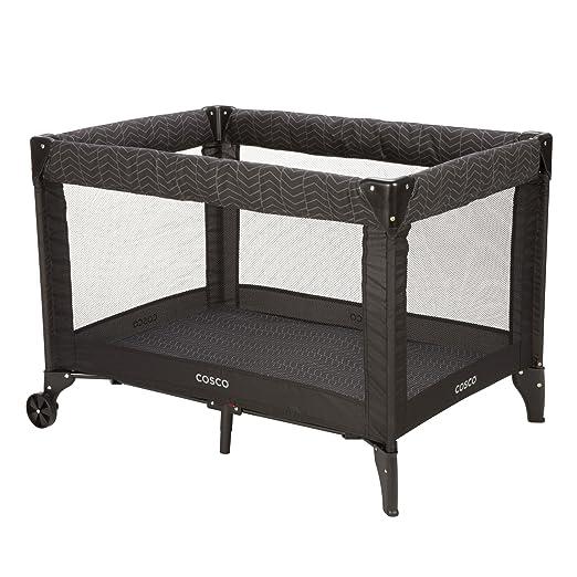 cama corral sencilla para bebes color negrohttps://amzn.to/2SIi0yN