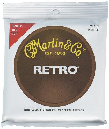 Martin MM12 Retro Monel Acoustic Guitar Strings