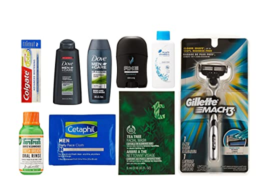 Men's Grooming Sample Box, 6 or more items ($9.99 credit on select products with purchase)