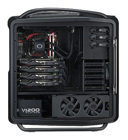 CoolerMaster V1200 Platinum PCに組み込んだところ