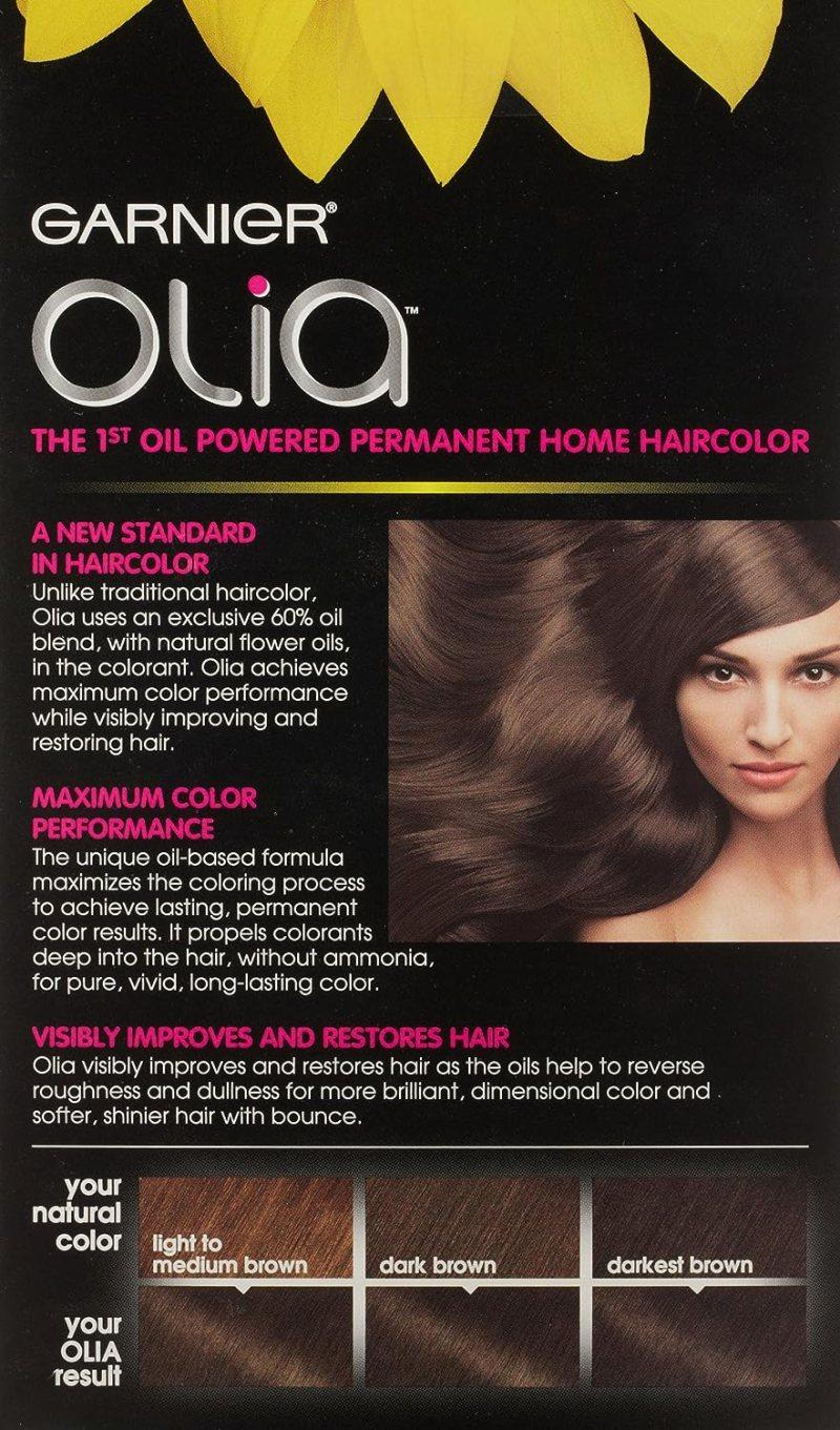 Garnier Olia Hair Color Review Light Ash Brown 6 1 Coloringsite
