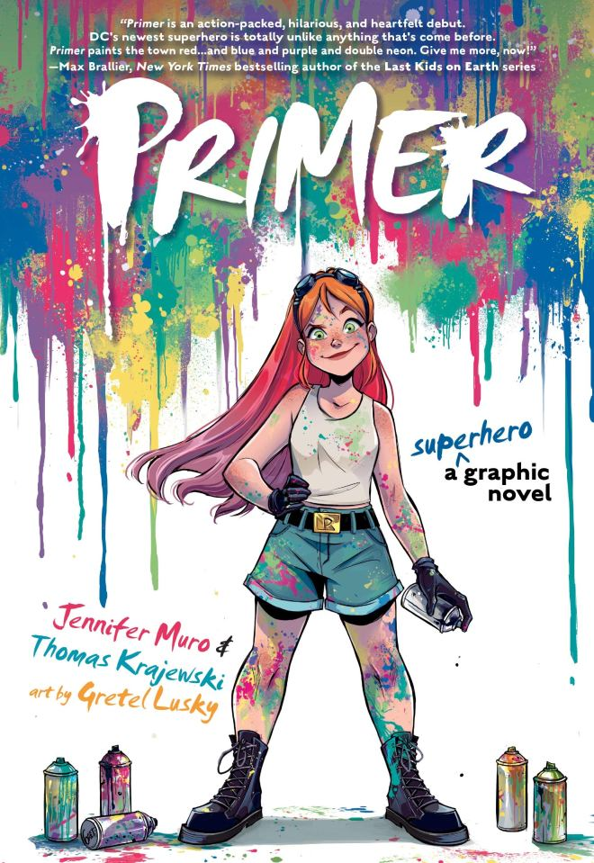 Primer: Krajewski, Thomas, Jennifer Muro, Lusky, Gretel: 9781401296575:  Amazon.com: Books