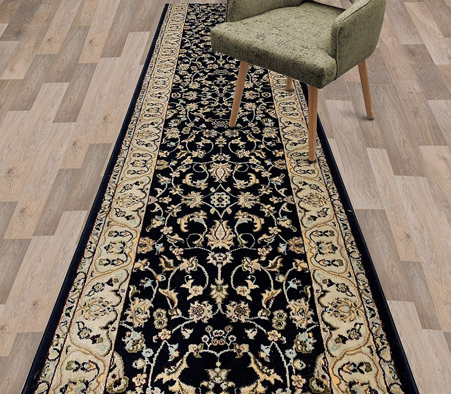 Amazon Com Custom Size Traditional Classic Oriental Hallway Stair   Oriental Rug Runners For Stairs   Design Stair   Basement Stairs   Area Rugs   Bucks County   Salem Ma
