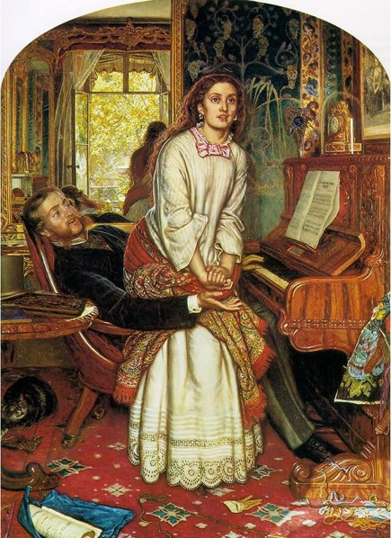 Amazon.com: The Awakening Conscience by William Holman Hunt: Posters &  Prints