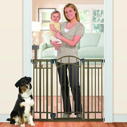 Summer Infant Multi-Use Deco Extra Tall Walk-Thru Baby Gate, Good, Best, Top, Lock Pressure, Babies, Gates