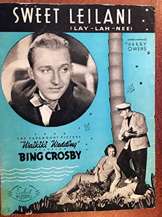 Image result for bing crosby in waikiki wedding