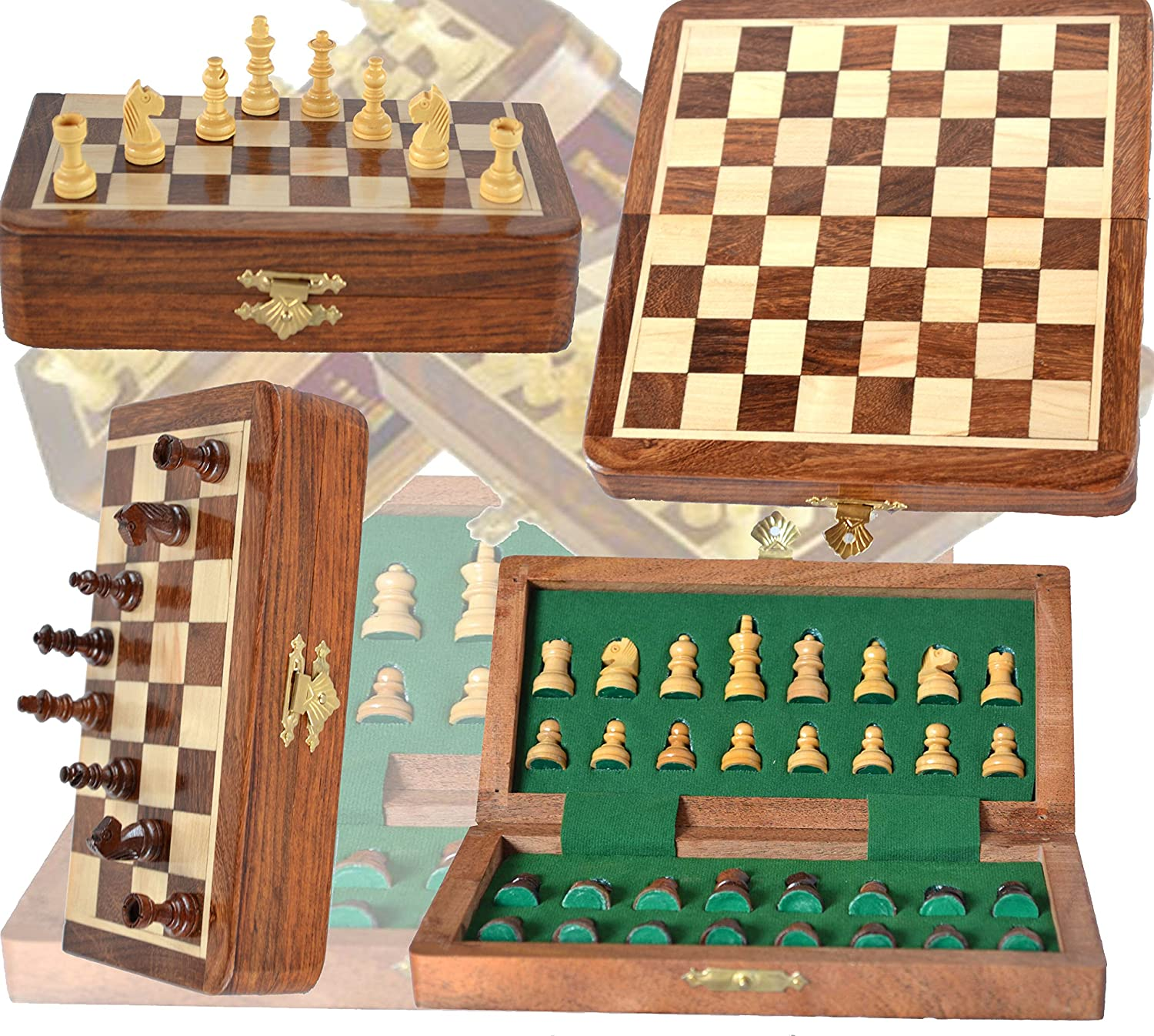 Chess Bazar - Magnetic Travel Pocket Chess Set