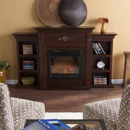 Southern Enterprises Tennyson Electric FireplaceBlack Friday Deal