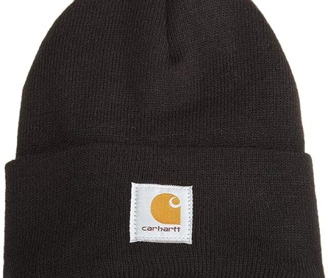 Carhartt Mens Acrylic Watch Hat A18 Black One Size