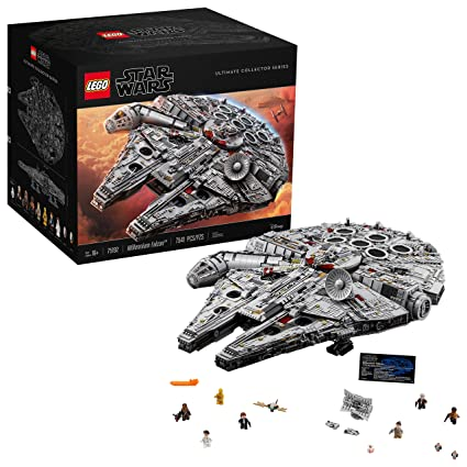 Lego Star Wars Ultimate Millennium Falcon 75192 Expert Building Kit And Starship Model Best Gift And Movie Collectible For Adults 7541 Pieces