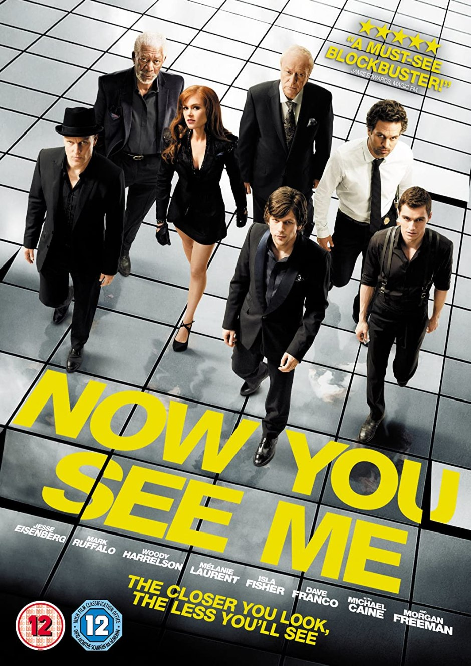 DVD: Now You See Me