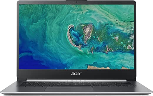 Acer Swift 1 SF114-32 14-Inch Laptop - (Intel Pentium N5000, 4GB RAM, 128GB SSD, Full HD Display, Windows 10 in S Mode, Silver)