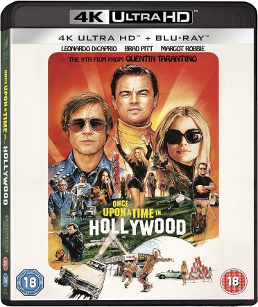 Once Upon a Time in... Hollywood Blu-ray 2019 Region Free: Amazon.co.uk:  Leonardo DiCaprio, Brad Pitt, Margot Robbie, Emile Hirsch, Margaret  Qualley, Timothy Olyphant, Julia Butters, Austin Butler, Dakota Fanning,  Bruce Dern, Mike