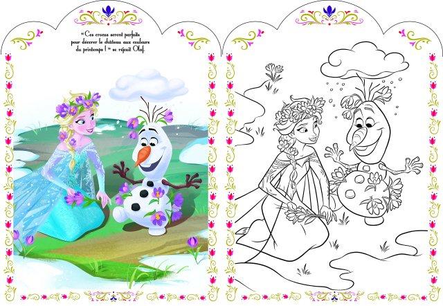 Amazon.in: Buy Disney la reine des neiges coloriage avec stickers