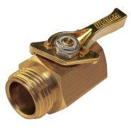 dramm brass shut off valve
