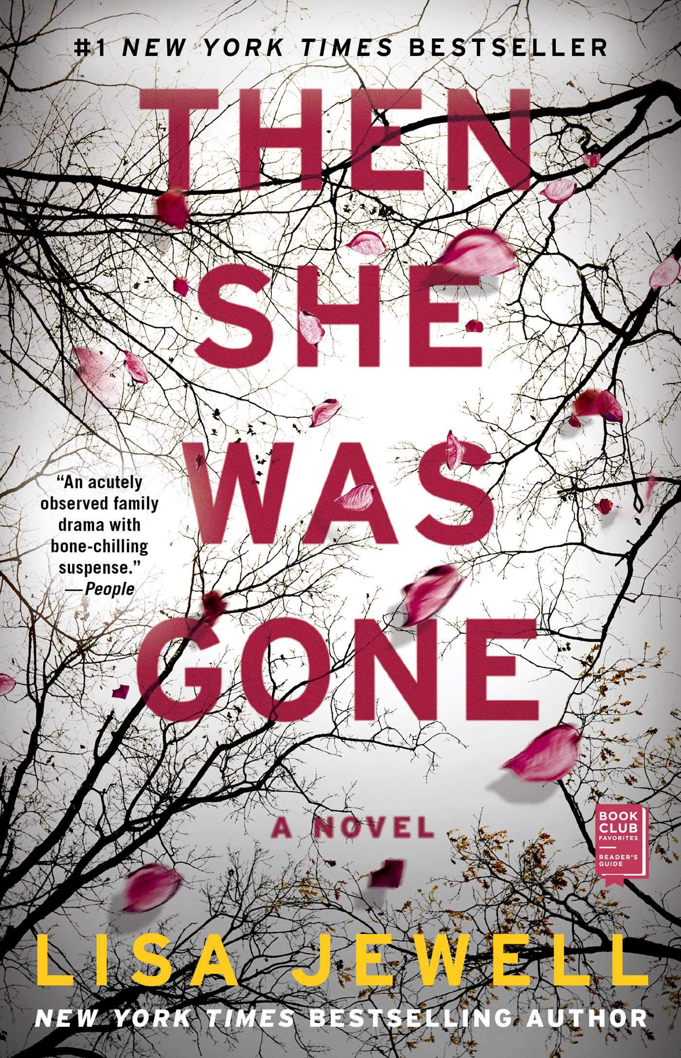 Then She Was Gone book cover image from a June and July Reading Recap.