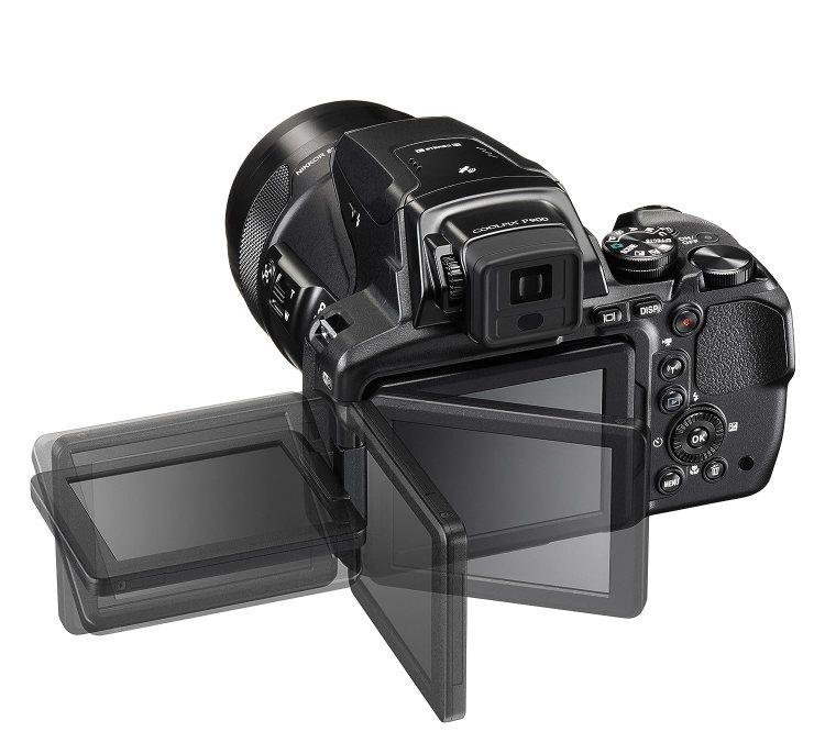 NIKON COOLPIX P900 AVEC ECRAN ROTATIF ideal selfie et youtube
