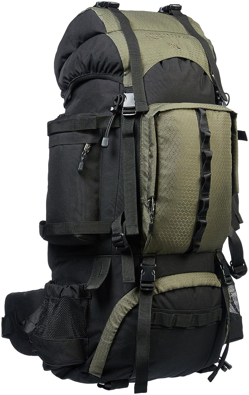 AmazonBasics 75 L Internal Frame Hiking Backpack