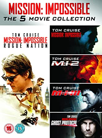 Amazon.com: Mission Impossible 1-5 [DVD]: Tom Cruise: Movies & TV