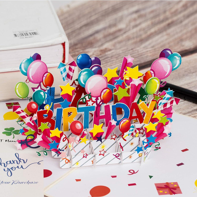 Amazon Com Happy Birthday Pop Up Card Birthday Pop Up Cards Popup Birthday Card 3d Card Birthday Cards 3d Birthday Greeting Card Birthday Pop Up Card 3d Birthday Card Birthday Greeting Cards