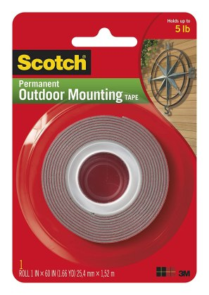 Scotch Outdoor Mounting Tape Review