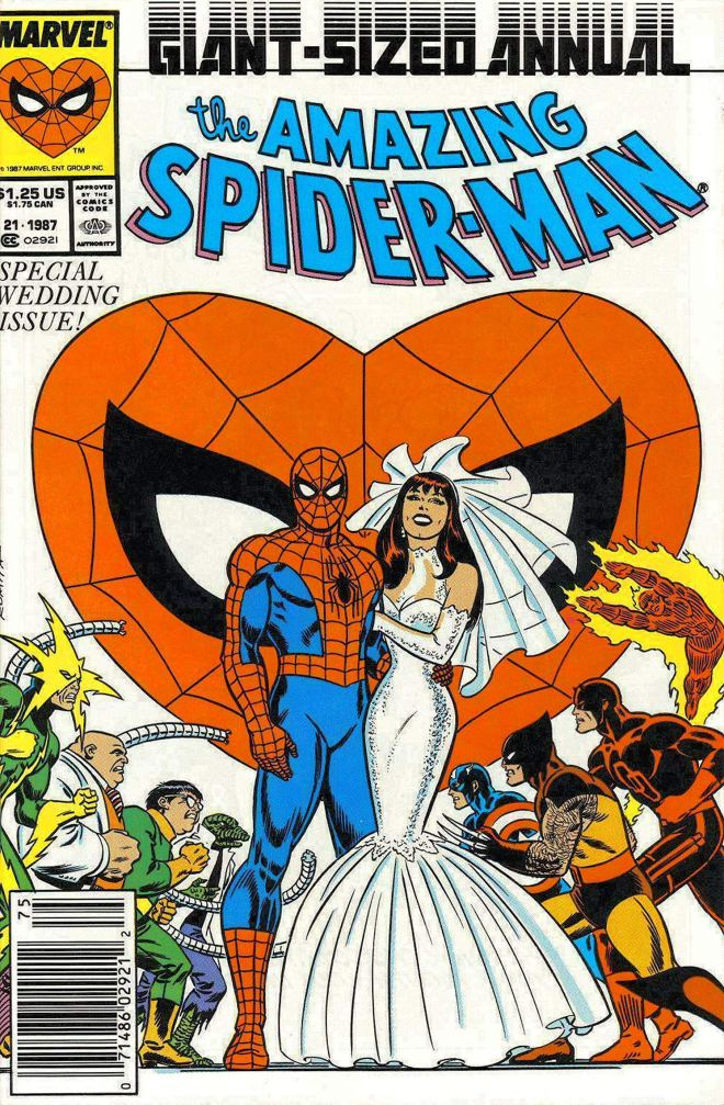Image result for spiderman marriage