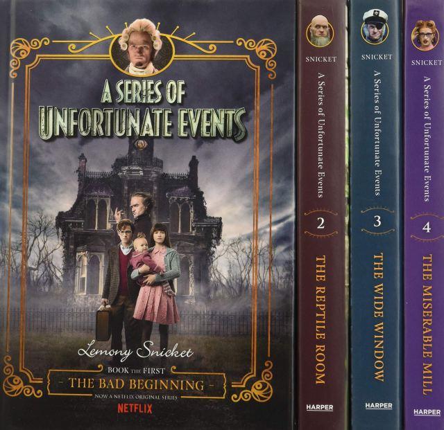 A Series of Unfortunate Events #16-16 Netflix Tie-in Box Set