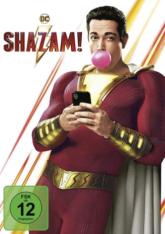 Shazam! DVD