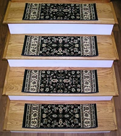 148709 Rug Depot Traditional Oriental Non Slip Carpet Stair   Oriental Rug Stair Treads   Flooring   Amazon   Non Slip   Bullnose Stair   Kings Court