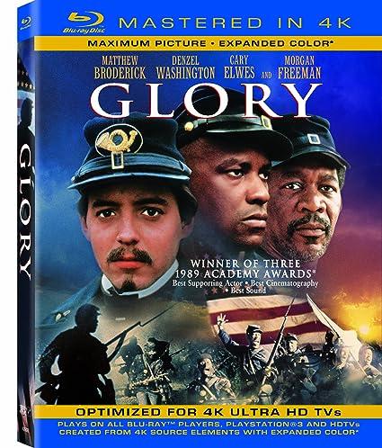 Glory  (Mastered in 4K) (Single-Disc Blu-ray + Ultra Violet Digital Copy)