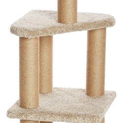 Amazon Basics Cat Activity Tree with Scratching Posts