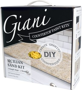 best paint for bathroom vanity - Giani Granite