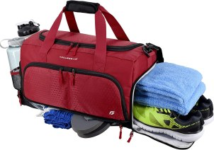 Ultimate Gym Bag 2.0 - Womens Gym Bag with Separate Shoe Compartment