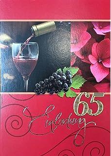 Einladungskarten 65 Geburtstag Frau Mann Mit Innentext