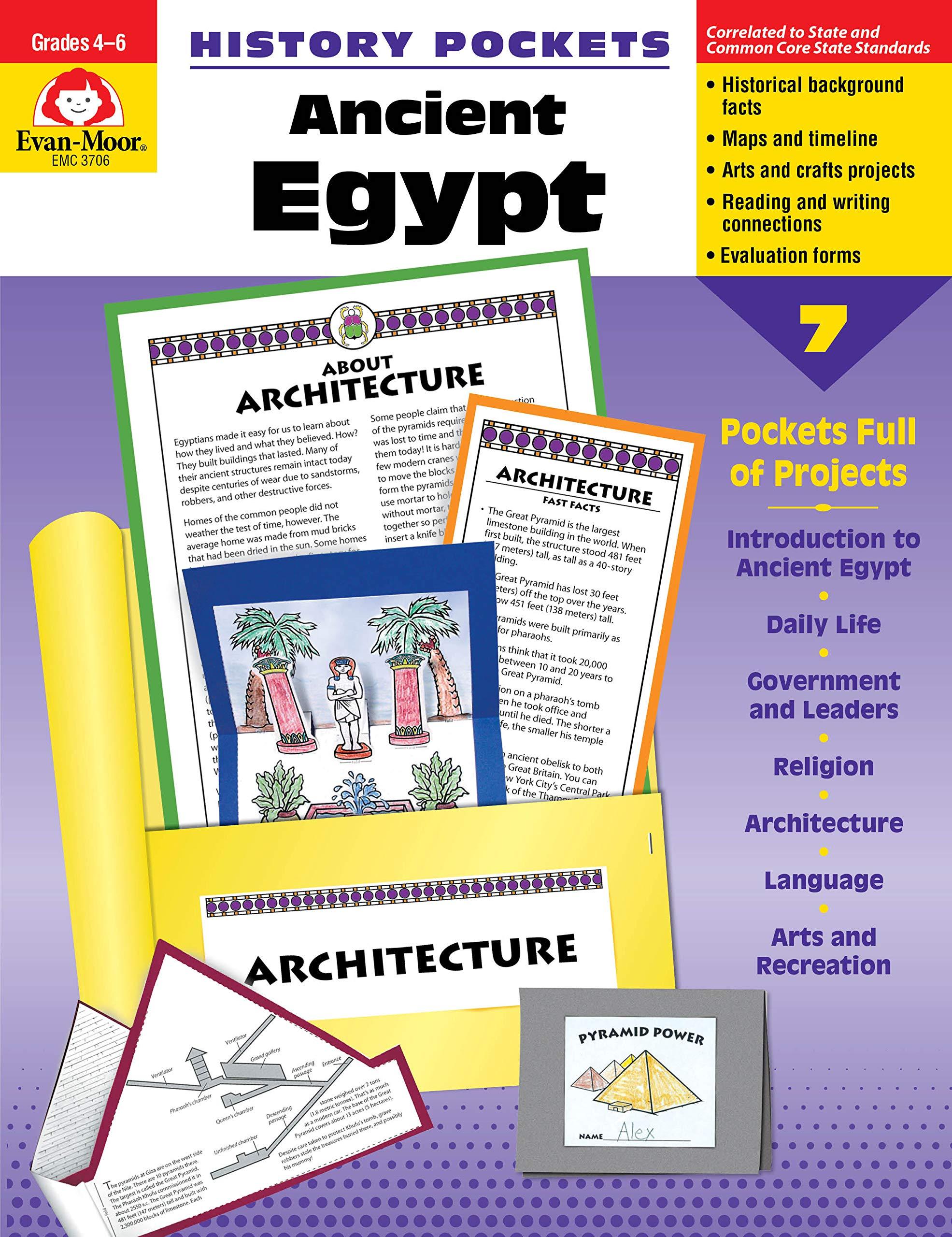 Ancient Egypt History Pocket: Grades 4-6+
