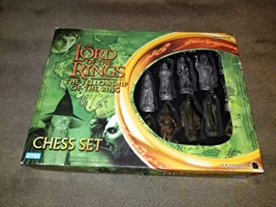 Lord of the Rings - Fellowship of the Ring Chess Set