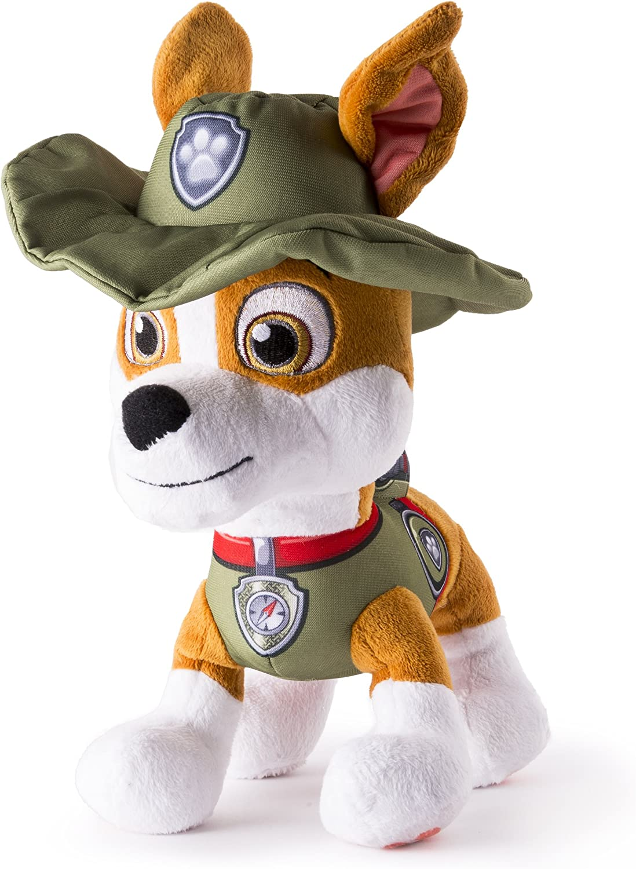 Paw Patrol Basic 10 Plush Tracker Amazon Ca Toys Games