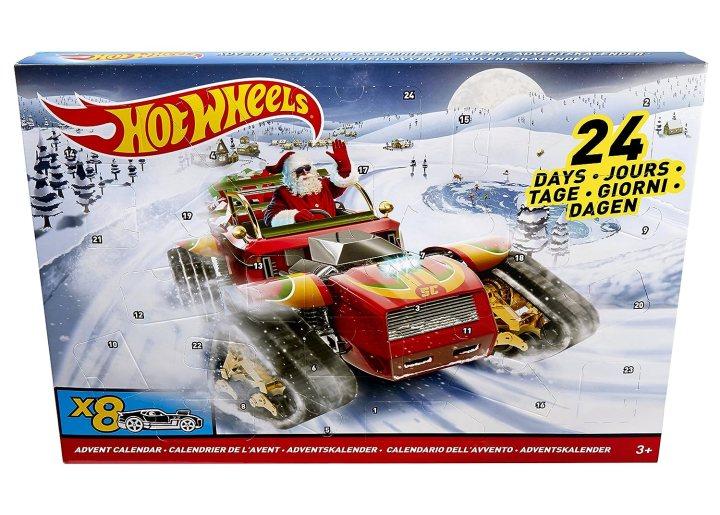 Hot Wheels 2017 Advent Calendar Vehicle