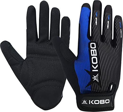 Kobo CTG-02 Weight Lifting Gym Gloves Full Finger Hand Protector for Cross Fitness and Functional Training