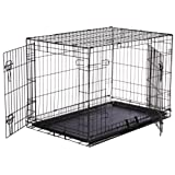 AmazonBasics Folding Metal Dog Crate